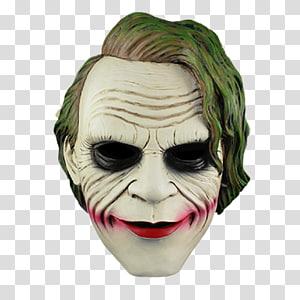Joker mask The Dark Knight Batman, joker PNG clipart