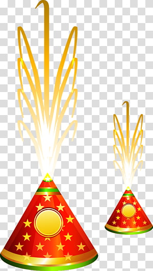 two red-and-green Christmas ornaments illustration, Sri Ganpath Fireworks Factory Festival of Lights, cracker PNG clipart