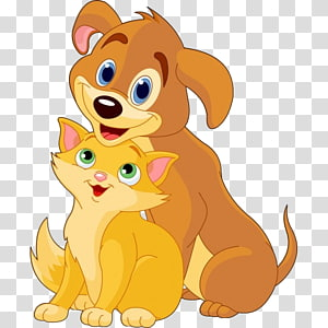 Dog–cat relationship Dog–cat relationship , dogs and cats PNG clipart