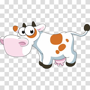 Baka graphics Illustration, cow PNG clipart