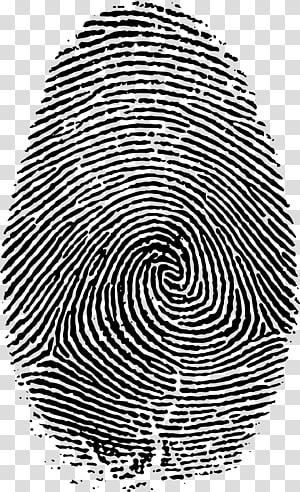 Fingerprint Live scan, big PNG