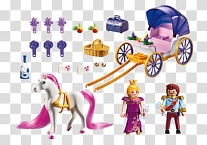 Playmobil Carriage Action & Toy Figures Horse, dream carriage PNG clipart