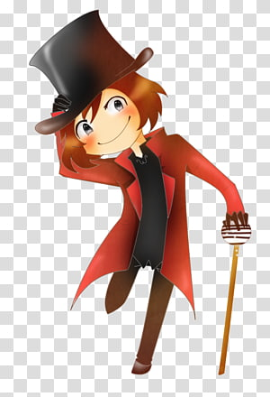 The Willy Wonka Candy Company Chibi Caricature, Chibi PNG