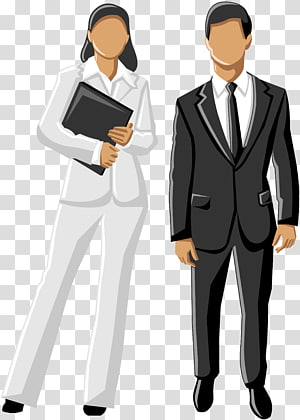 Businessperson Company Cartoon, Business PNG