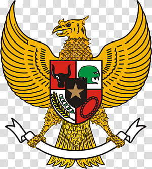 yellow bird illustration, National emblem of Indonesia Garuda Indonesia Logo, bali PNG clipart