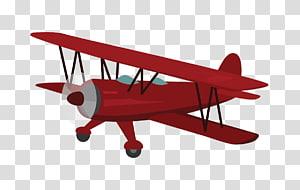 Biplane Airplane Aircraft Monoplane Wing, airplane PNG