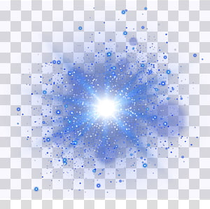 blue glare PNG