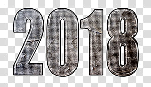Desktop New Year, 2018 year PNG clipart