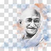 Mahatma Gandhi PNG clipart