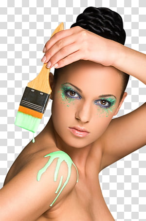 Face Eyebrow Woman Body painting Beauty, Face PNG clipart