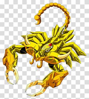 Scorpion Saint Seiya: Knights of the Zodiac Leo Aiolia Pegasus Seiya, Scorpion PNG clipart