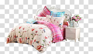 Bedding Textile Information Blanket, bed PNG
