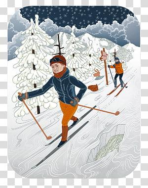 Biathlon Ski Bindings Ski Poles Nordic skiing, Winter Travel PNG clipart