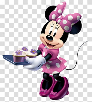 Minnie Mouse, Minnie Mouse Mickey Mouse Cooking , Minnie Mouse PNG