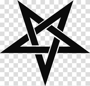 star logo , Lucifer T-shirt Pentagram Sticker Decal, Judaism PNG clipart
