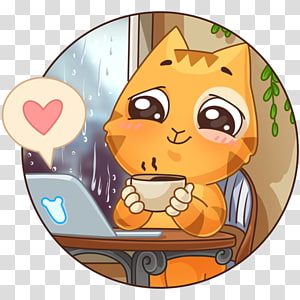 Telegram VKontakte Sticker Yandex Search Social networking service, Eeoneguy PNG clipart