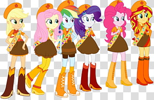 Applejack Pinkie Pie Rarity My Little Pony: Equestria Girls, others PNG clipart