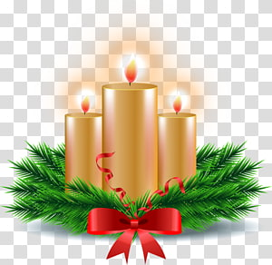 Christmas ornament Candle Christmas Day, Candle PNG clipart
