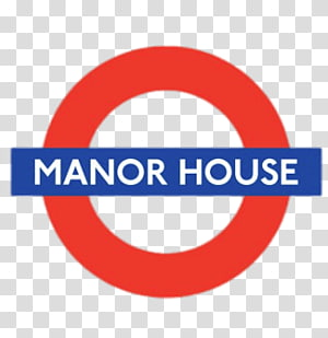 red and blue Manor House logo, Manor House PNG