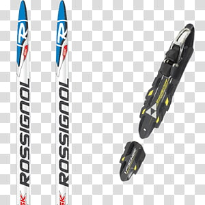 Ski Bindings Skis Rossignol Cross-country skiing Langlaufski, skiing PNG clipart