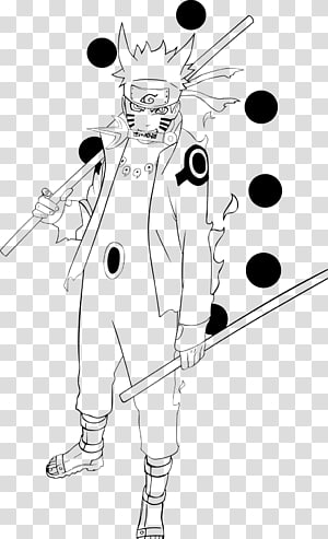 Obito Uchiha Sasuke Uchiha Madara Uchiha Naruto Uzumaki Line art, manga PNG