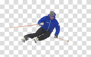 Ski Bindings Ski cross Ski Poles Skiing, skiing downhill PNG clipart