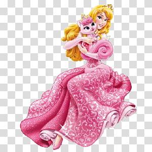 Princess Aurora Rapunzel Kitten Belle Disney Princess, disney palace PNG clipart