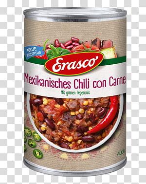 Chili con carne Sauce Vegetarian cuisine Erasco Meat, meat PNG clipart