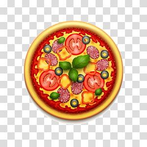 Sicilian pizza Italian cuisine Fast food, Pizza PNG clipart