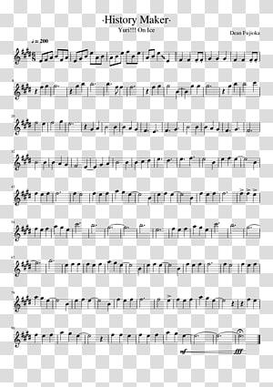Sheet Music Violin History Maker Flute, sheet music PNG clipart