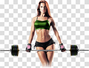 Weight training Olympic weightlifting Exercise Weight loss Physical fitness, woman PNG