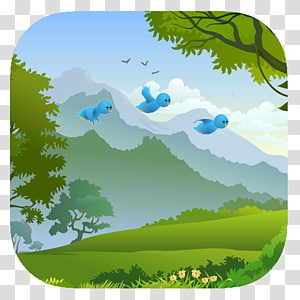 Tree Landscape, tree PNG clipart