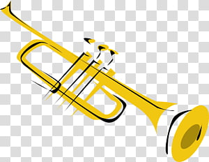 Trumpet Free content Musical instrument , Jazz s Border PNG