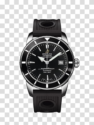Breitling SA Automatic watch Chronograph Superocean, rolex PNG