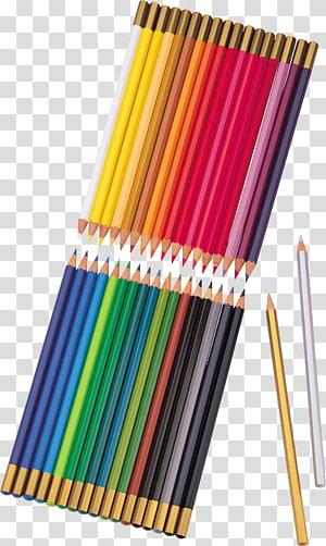 Colored pencil Blue pencil, pencil PNG clipart