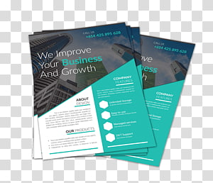 Paper Flyer Advertising Printing Brochure, Business PNG
