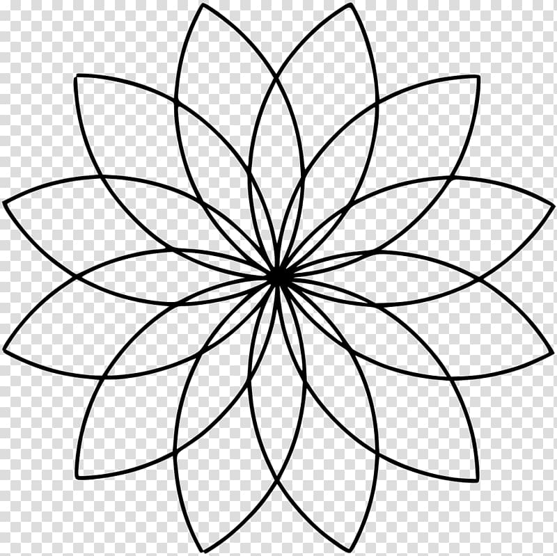 Sacred geometry Overlapping circles grid, circle PNG