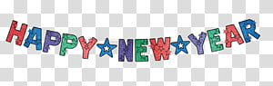 New Year\'s Day New Year\'s Eve Banner , Happy New Year s PNG clipart