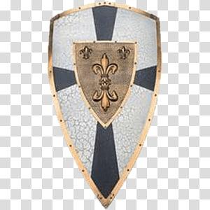 Shield Holy Roman Empire Knight Francia Holy Roman Emperor, shield PNG