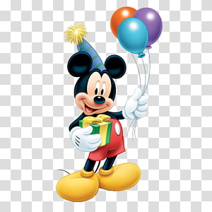 Mickey Mouse Minnie Mouse Balloon Standee Birthday, mickey mouse, Mickey Mouse illustration PNG