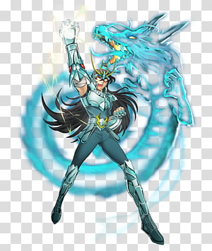 Dragon Shiryū Pegasus Seiya 聖闘士星矢 ギャラクシーカードバトル Saint Seiya: Knights of the Zodiac Anime, Anime PNG clipart