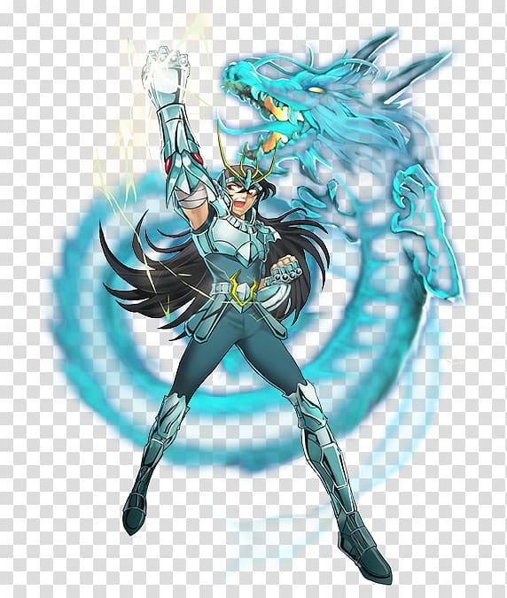 Dragon Shiryū Pegasus Seiya 聖闘士星矢 ギャラクシーカードバトル Saint Seiya: Knights of the Zodiac Anime, Anime PNG clipart