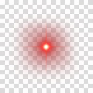 Light Line Angle Point Red, Red shine light effect element, red spark PNG