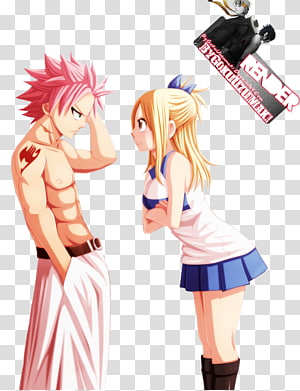 Natsu Dragneel Erza Scarlet Lucy Heartfilia Fairy Tail Anime, fairy tail PNG clipart