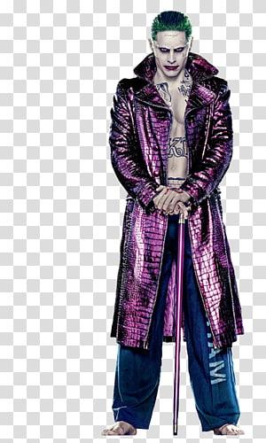 Joker Harley Quinn Deadshot Amanda Waller Suicide Squad, joker PNG
