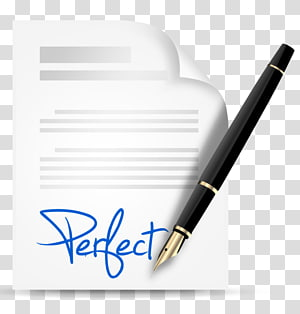 Contract Computer Icons Paper Pen, pen PNG
