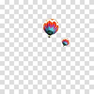Balloon Airplane, hot air balloon PNG