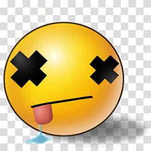 Smiley Emoticon Emoji , dead PNG clipart