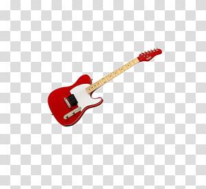 red guitar PNG