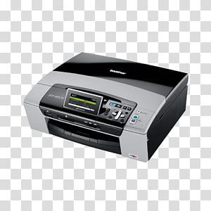 Printer driver Inkjet printing Ink cartridge Brother Industries, printer PNG